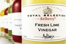Vinegars / Traditional Balsamic, Red & White Wine and a wide selection of specialty fruit vinegar for your tasting pleasure!