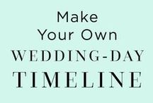 Wedding Planning 101 / Tips and tricks to ensure your big day runs smoothly.