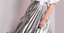 Silver skirts
