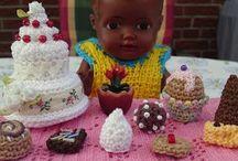 Crochet miniature / Crochet miniature  Virkade miniatyrer