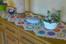 Beautiful crochet for your home / Vackert virkat till hemmet