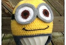 Crochet caps & hats / Virkade mössor & hattar