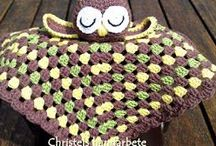 Crochet security blanket / Virkad snuttefilt