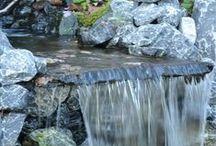 vijver / watervallen van (flag)stones