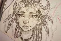Drawing Inspo / rysunki