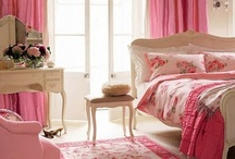 My Dream Home Decor  /  Very pink and colorful  / by Kimberly Kay