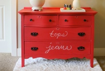 Furniture - Refinished, Chic, Misc / by Linda Crenwelge