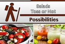 Salads-Toss or Not [Food] / #Recipes #Salads / by C. A. Hutsell