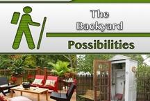 The Backyard / #Outdoor_Furniture, #Backyard, #Design, #Decor