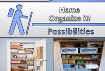 Home [Organize It!]  / #Organizing, #Home, #Decor