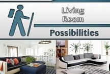 Living Room [Design] / #Living Room, #Home, #Decor