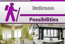 Bathroom [Design] / #Bathrooms, #Home, #Decor