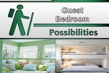 Guest Bedroom [Design] / #Bedroom, #Home, #Decor