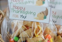 Give Thanks / Thanksgiving and Fall ideas for parties, gifts, and decorating.