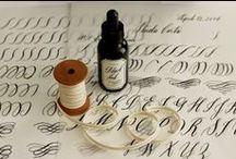 studio carta: calligraphy/lettering