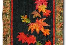 Quilted table Toppers - Placemats and Mug rugs  / by Sally Reyes