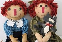 Raggedy Ann and Andy / by Patricia Wilson Griffiths