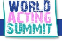 World Acting Summit / Triennial online event that brings together the best to offer aspiring actors industry advice http://www.worldactingsummit.com/