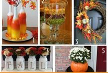 Fall & Thanksgiving / Food, Fun, Traditions, printables and ideas on how to celebrate fall and Thanksgiving