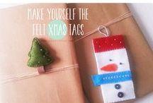 Handmade Christmas - Natale fatto a mano con amore / Una raccolta di idee e ispirazioni per un Natale all'insegna dell'handmade.