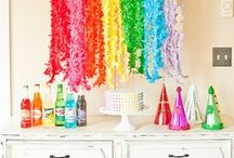 Party Hard - Rainbow/Lego / Party planning ideas for rainbow themed parties such as Lego, Rainbows,Arts&Crafts