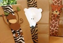 Party Hard - Zoo Theme / party planning for all animal themed parties