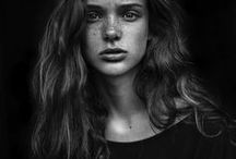 B&W portraits / The world of black and white photography, where I find the most inspiration