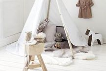 :: Kids Space :: / Kids places and spaces (especially rooms that can accommodate twins!) & accouterments for child centered spaces. / by Christine {The Plumed Nest}