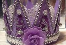 Crowns & Masks, just pretty! / by Coleen Franks