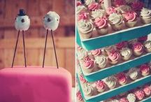 Wedding Cakes & Cupcakes / Some of our favourite wedding cakes and cupcakes!