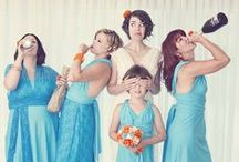 Great Wedding Party Shots / Fun and funny wedding party / bridal party photography and ideas.  www.RenaissanceStudios.ca