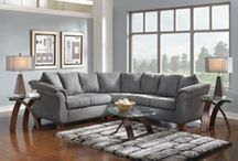 Sectional Healing / When I get that feeling I need, sectional healing.  Look at all of our sectionals here: http://bit.ly/U3IUvG / by American Signature Furniture