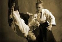 Aikido Girl / Aikido, martial arts, strong women, brave women, women in Aikido