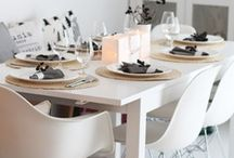 :: Dining Space :: / Eat Drink & be Merry Inside or Out. / by Christine {The Plumed Nest}