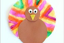 Thanksgiving / Thanksgiving themed crafts & hands-on learning activities for toddlers, preschoolers and kids!