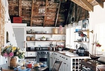KITCHENS & DINING / by Janet Bennett