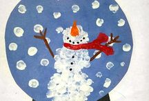 Winter / Winter themed activities, art projects, crafts and hands-on learning ideas for toddlers, preschoolers & kids!