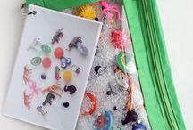 Busy Bags, Books & Boxes / Ideas to keep little ones busy. Including busy bags, books & boxes!