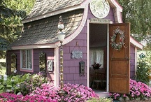 GAZEBOS, GARDEN HOUSES & SHEDS / by Janet Bennett