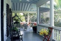 Porches, Patios, & Decks / by Janet Bennett