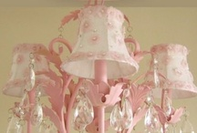 LAMPS, LIGHTS & CHANDILIERS / by Janet Bennett