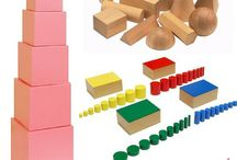 Montessori / Learning activities for toddlers, preschoolers and young children using the Montessori method.