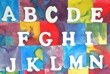 Teach: Alphabet Fun!  / Fun activities and crafts to help young children learn the alphabet! / by Samantha @Stir the Wonder