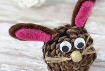 Easter / Make Easter FUN for kids! Easter themed crafts, activities and hands-on learning ideas for toddlers, preschoolers and kids!