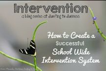Successful Intervention (RTI) / As an intervention specialist, I'm always looking for fresh intervention ideas and strategies for my intervention classroom.  Whatever you call intervention, the bottom line is we need to help students in a step by step systematic way so they can become successful.  All students can learn! Intervention, Response to Intervention, Tier 1, Tier 2, and Tier 3, Pull Out Intervention