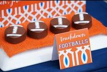 Orange and Blue Party/Tailgate Ideas