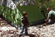 Camping with Kids / Tips & ideas for camping with kids! Whether in a tent or RV! Including camping food!