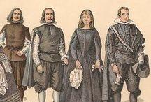 Vestuario de caballero siglo XVII