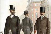 Vestuario de caballero finales XIX