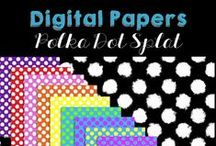 Digital Decorative Designs / Whether you have diy crafts that could use some color, or you want graphic design elements for scrapbooking, or your a teacher author ready to make your educational resources pop, there is something here for you.